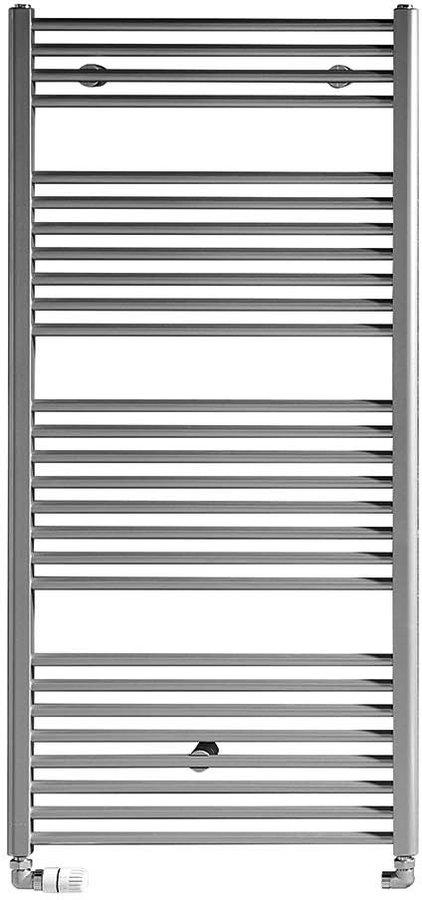 Otopné těleso rovné 970/450, 415 W, metalická stříbrná ILS94