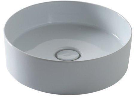 ICON CIRCLE umyvadlo průměr 40,5 cm, včetně výpusti s keramickou zátkou 31140101