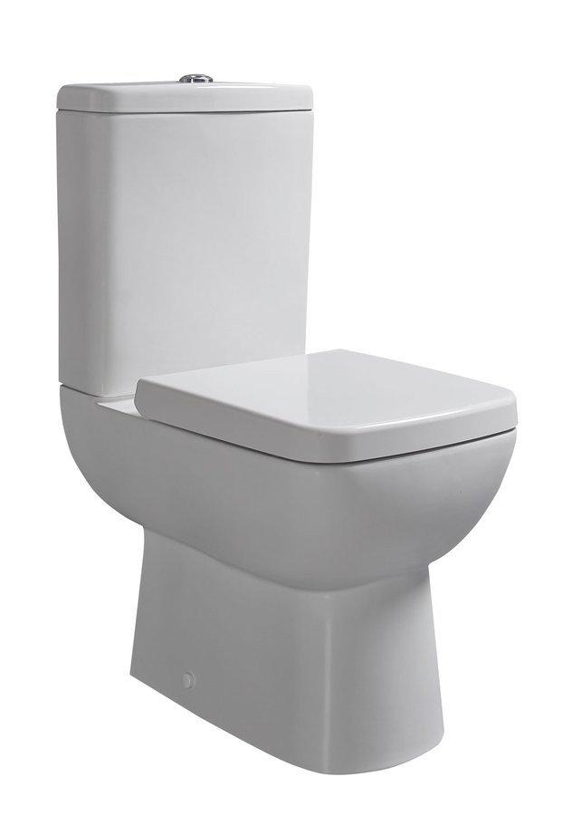 TYANA SHORT WC kombi vč. Soft Close sedátka a splach. mech., spodní/zadní odpad 72200E