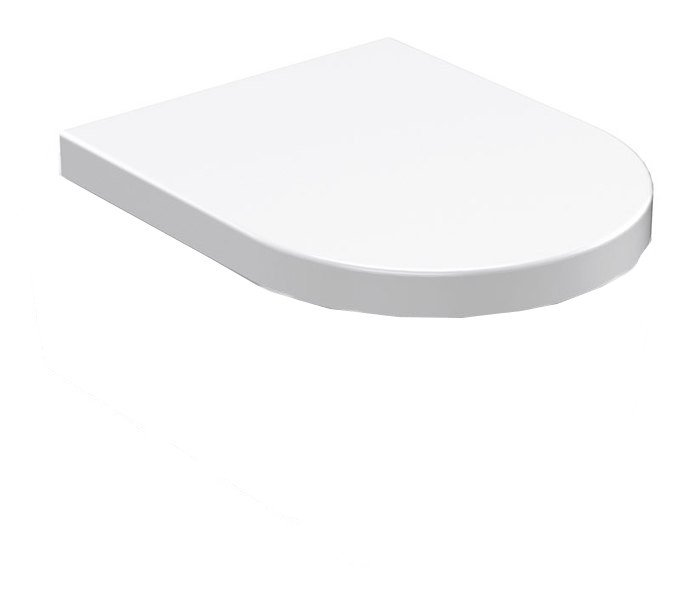 FLO WC sedátko Soft Close, termoplast, bílá 318701