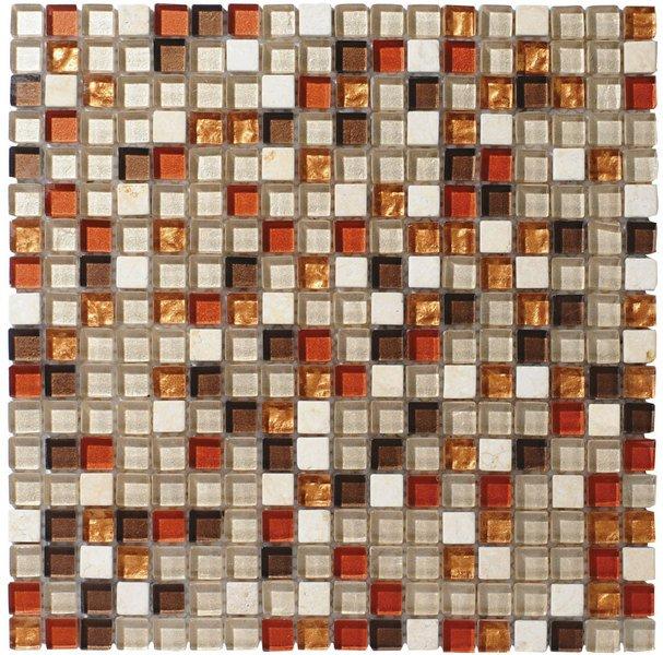 CORNY MOSAIC (ZSC070) plato 30x30, 1,5x1,5 cm (bal. 11ks) CMB070