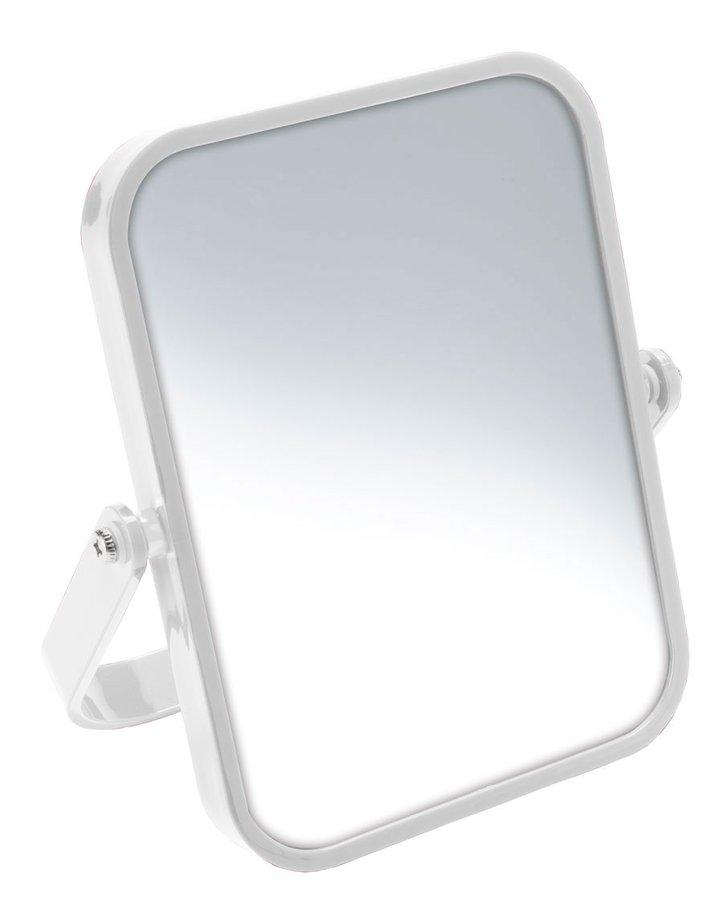 ELENA kosmetické zrcátko na postavení, bílá CO2022