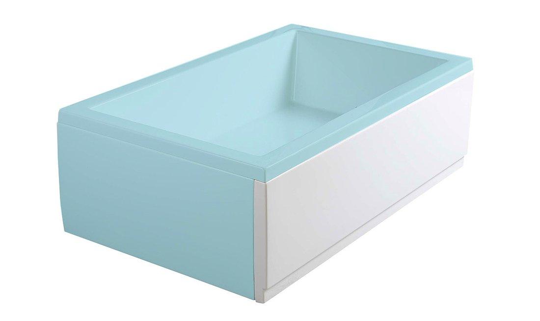 DEEP PLAIN 110, panel čelní, pravý, 110x36cm, bílá 83659