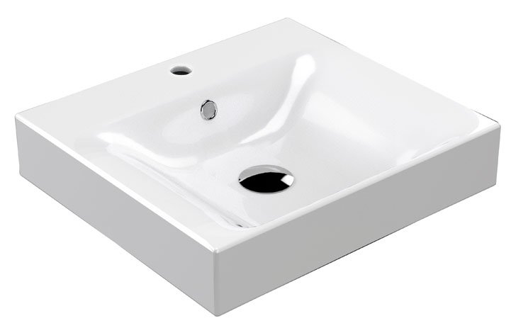 CENTO keramické umyvadlo 50x45cm 353001