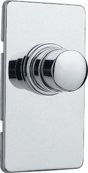 QUIK samouzavírací podomítkový WC ventil, chrom QK82051