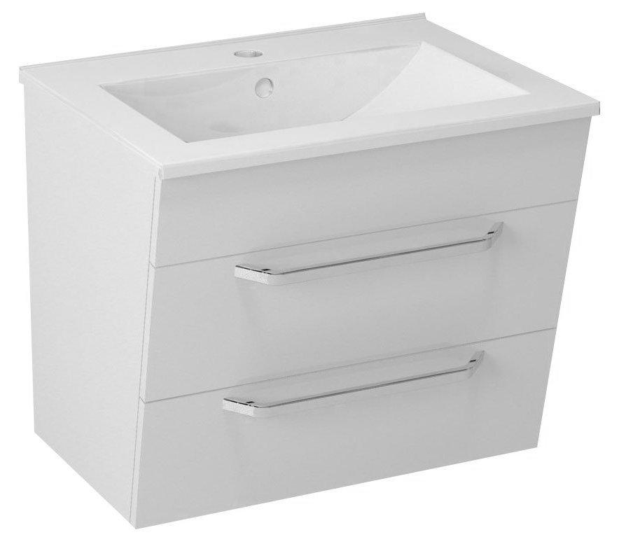KALI umyvadlová skříňka 59x50x45cm, bílá 56062