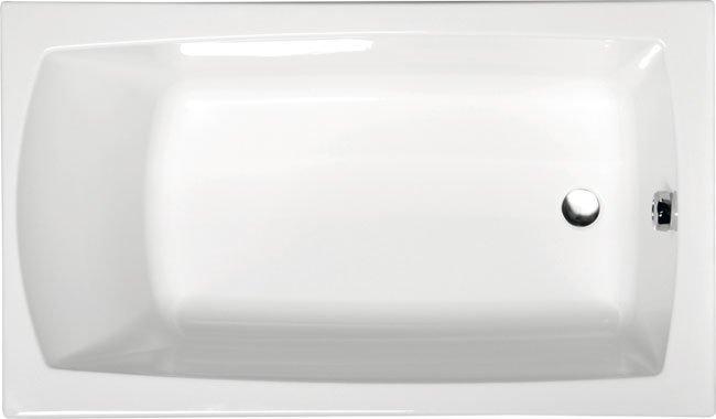 LILY 120 obdélníková vana s podstavcem 120x70x39cm, bílá 25111