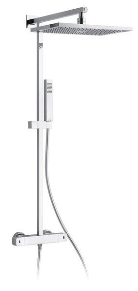 AQUARAMA sprchový sloup s termostatickou baterií, chrom AM64SP2151