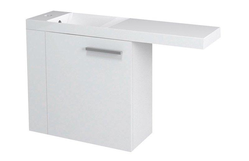 LATUS VI umyvadlová skříňka 50x50x22cm,levá, bílá 55835