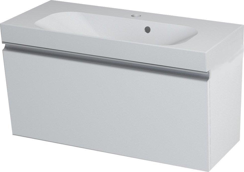 MELODY umyvadlová skříňka 80x38x34cm, bílá 56052