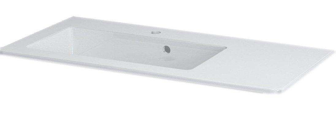 GREDA umyvadlo 90x45cm, litý mramor, bílá 80931