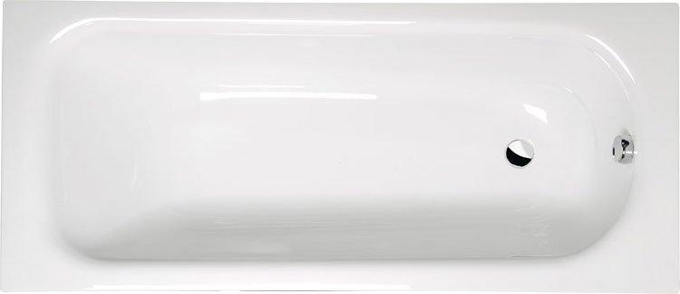 LAURA 170 obdélníková vana s podstavcem 170x75x39cm, bílá 25611