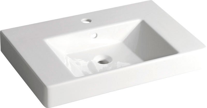 SISTEMA V keramické umyvadlo 70x45cm (PURITY) 10PL51070