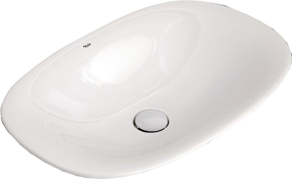 SPIRIT keramické umyvadlo na desku 60x40 cm, bílé 71136158