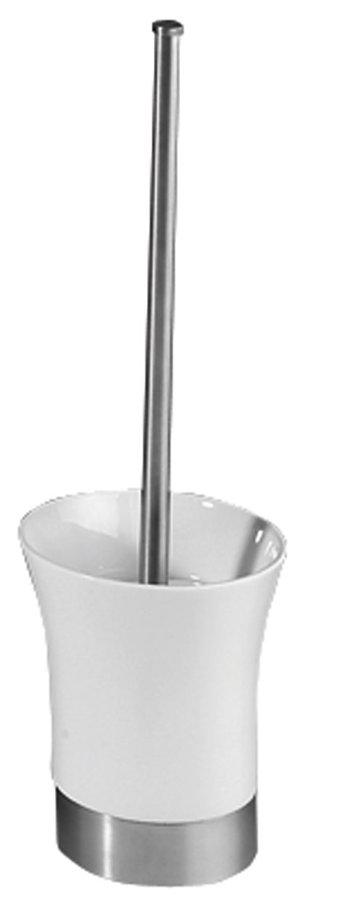 JUSTIME 1 WC štětka na postavení, keramika/nerez 1308-28