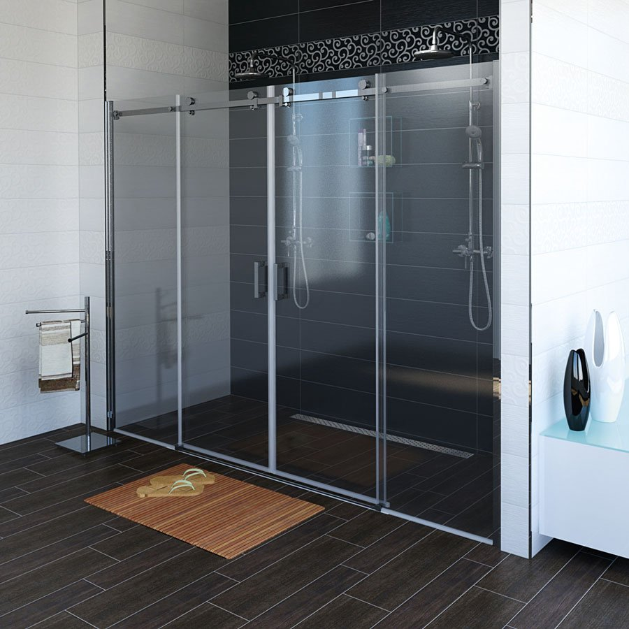 DRAGON sprchové dveře 1700mm, čiré sklo GD4870
