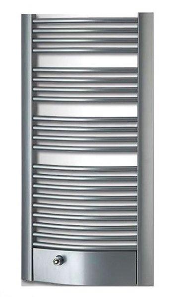 FOCUS FXB otopné těleso 595x1154mm, 669W, stříbrná strukturální FXB-612S