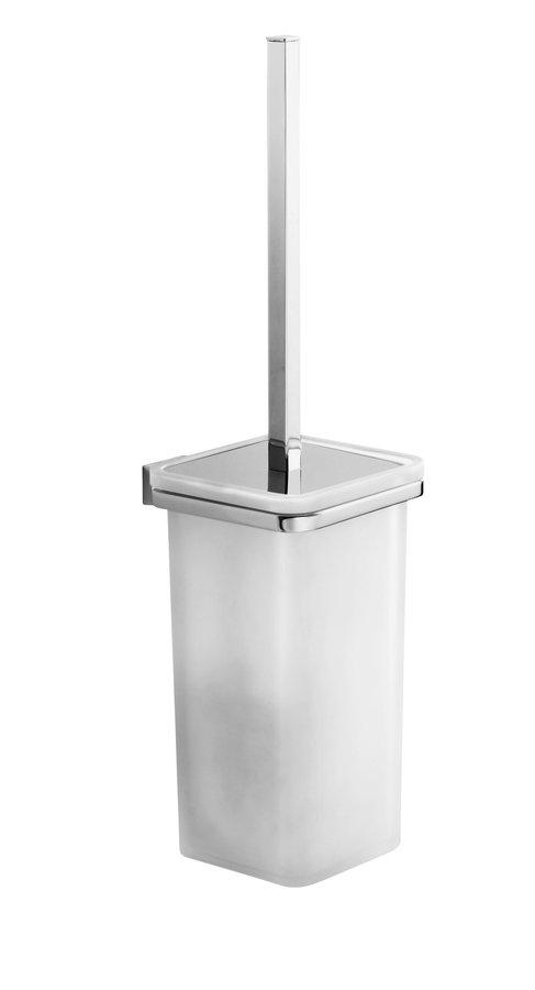GLAMOUR WC štětka závěsná, chrom 573303