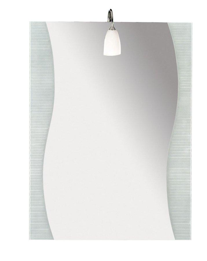 LAINE zrcadlo 600x800mm, vlna, pískované 10002