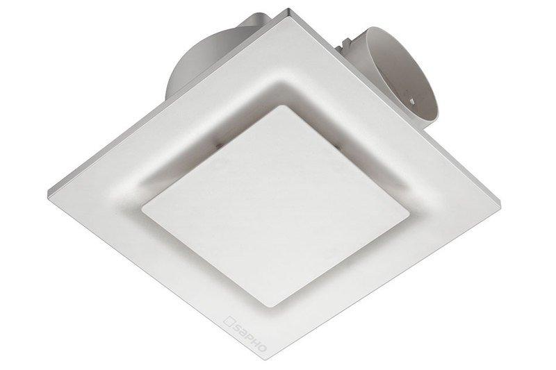 TECTO stropní ventilátor axiální, 20W, potrubí 100mm, bílá TC201