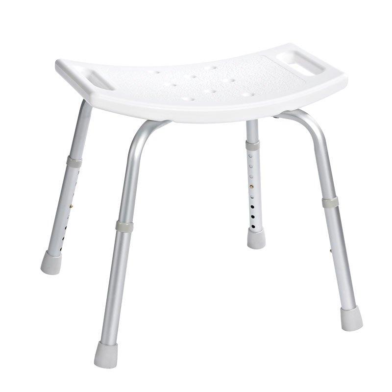 Stolička, nastavitelná výška, bílá A00601101