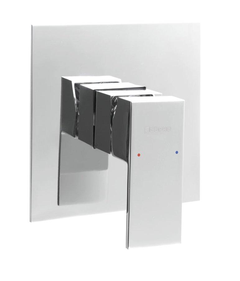 LATUS podomítková sprchová baterie, 1 výstup, chrom 1102-41