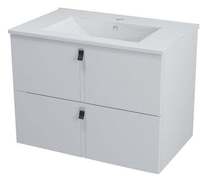 MITRA umyvadlová skříňka 74,5x55x45,2 cm, bílá MT071