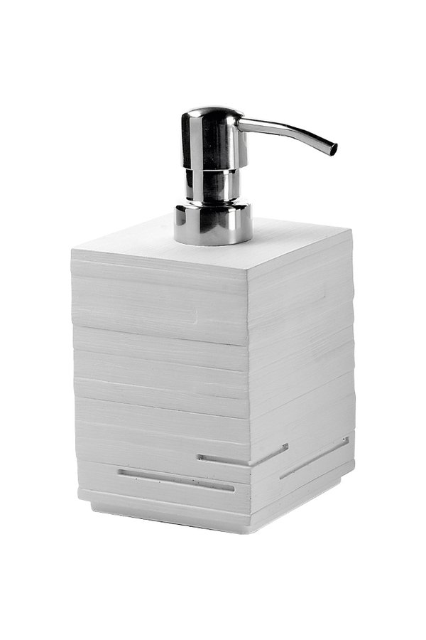 QUADROTTO dávkovač mýdla na postavení, bílá QU8102