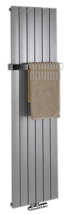 COLONNA otopné těleso 298x1800 metalická stříbrná IR143