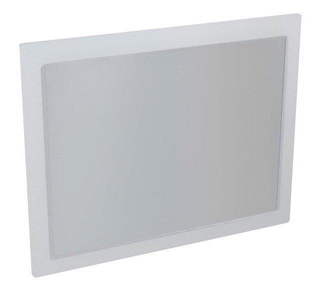 MITRA zrcadlo v rámu 920x720x40mm, bílá MT181