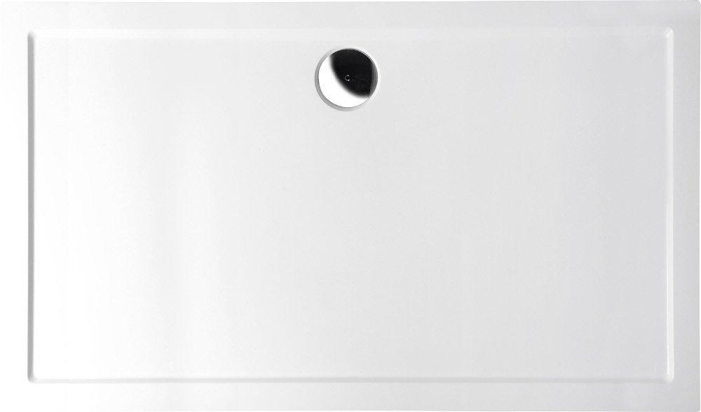 KARIA vanička z litého mramoru, obdélník 120x100x4cm 26611