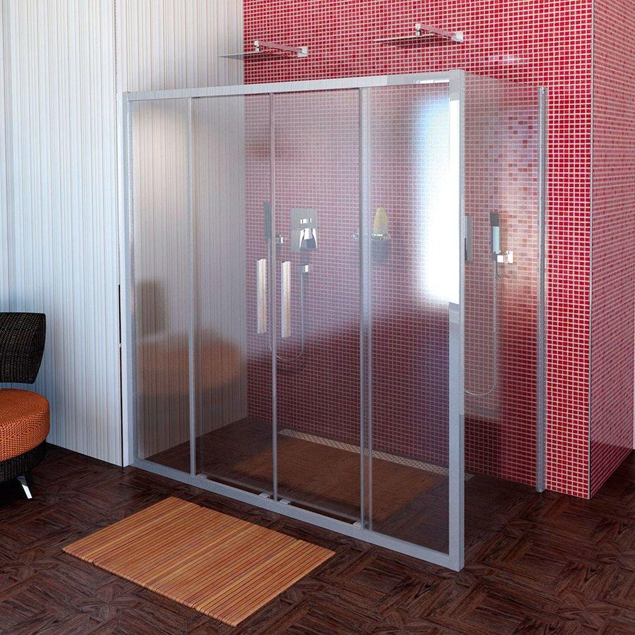 Lucis Line třístěnný sprchový kout 1600x700x700mm DL4315DL3215DL3215