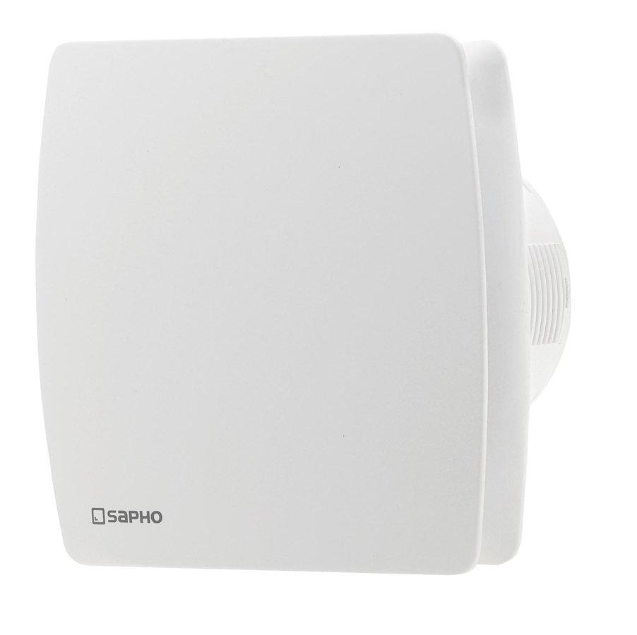 LEX koupelnový ventilátor axiální s časovačem, 15W, potrubí 100mm, bílá LX102