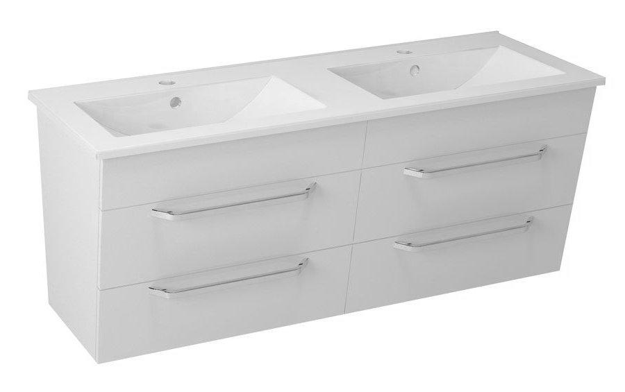 KALI umyvadlová skříňka 120x50x45cm, bílá 56121