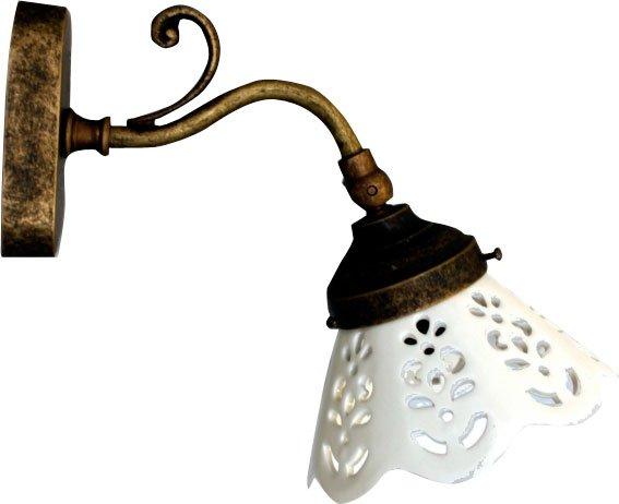 BARI svítidlo E14, 40W, 230V, keramické stínítko, bronz MC811