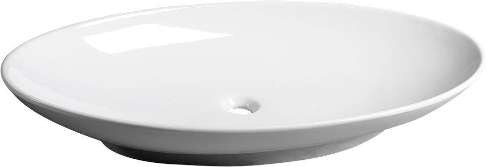 JOKER DISH keramické umyvadlo 90x15x50cm, na desku, bez přepadu 29210301