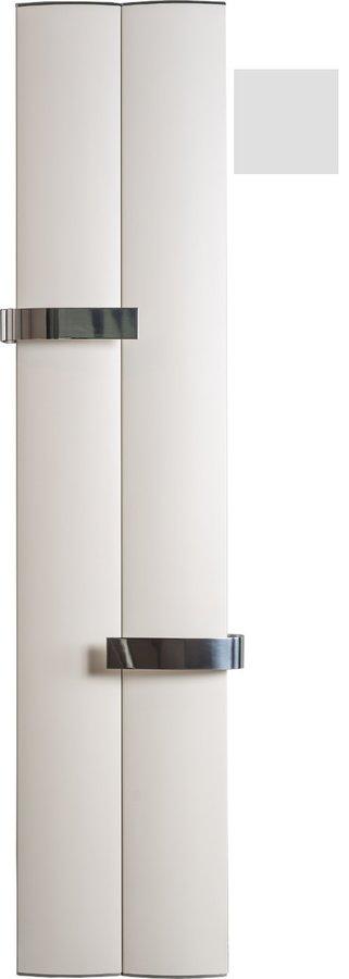 OTHELLO TWIN otopné těleso 460x1890 mm, 2 držáky ručníků otevřené, met.stříbrná 2221189046SS
