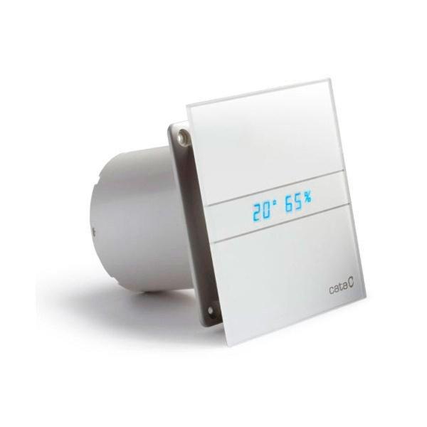 E-120 GTH koupelnový ventilátor axiální s automatem, 15W, potrubí 120mm, bílá 901200