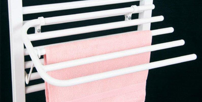 Sušák 4 ručníků na otopná tělesa typ 'KD', bílá 25-01-SV450