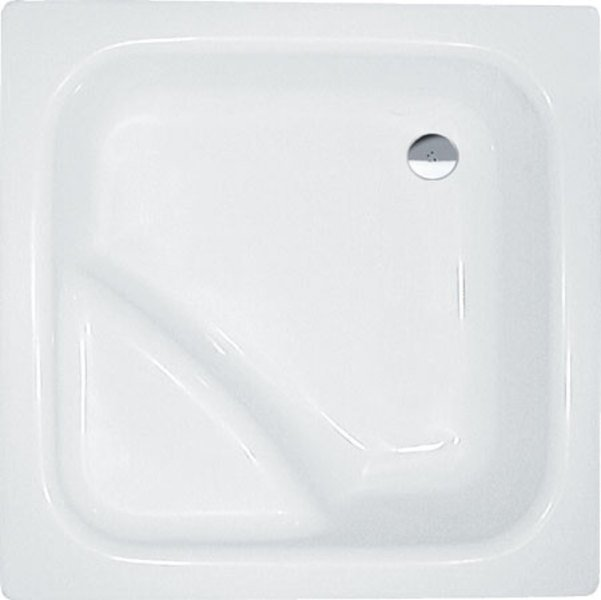 VISLA hluboká sprchová vanička akrylátová, čtverec 80x80x27cm 50111