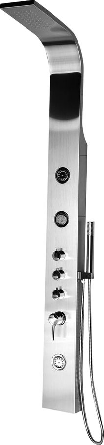 AIKO sprchový panel 155x1630mm, nerez WN163
