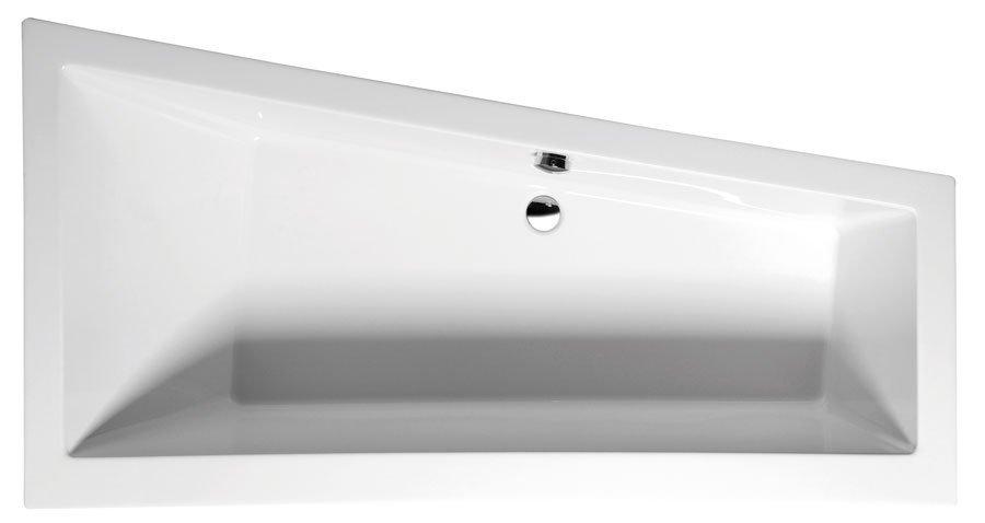ANDRA R asymetrická vana s podstavcem 180x90x45cm, pravá, bílá 78771