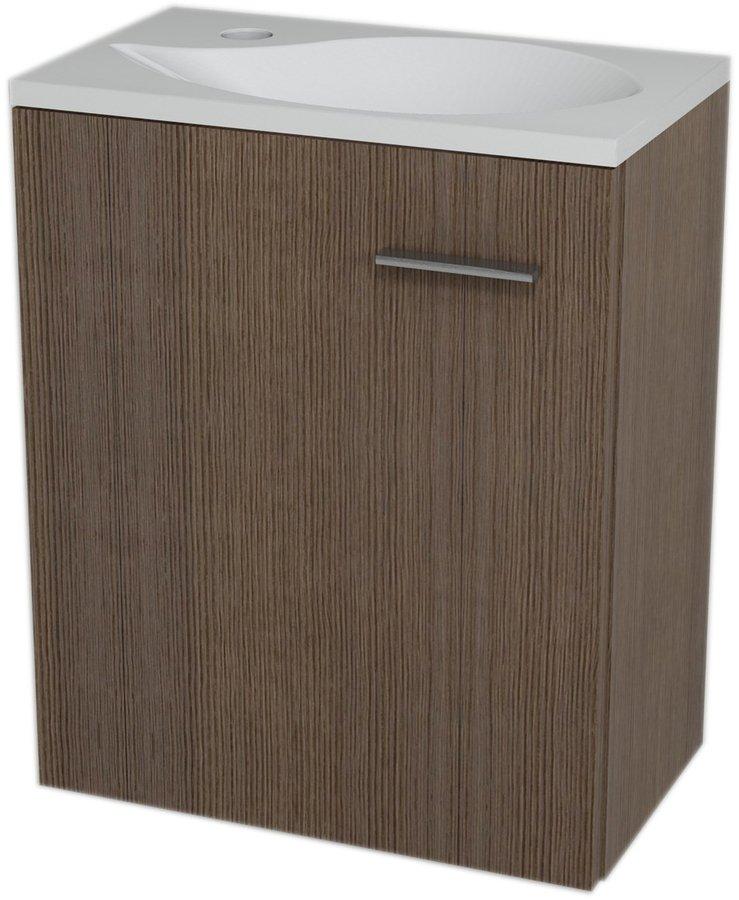 LATUS II umyvadlová skříňka 41,6x50x25cm, Borovice rustik 55589