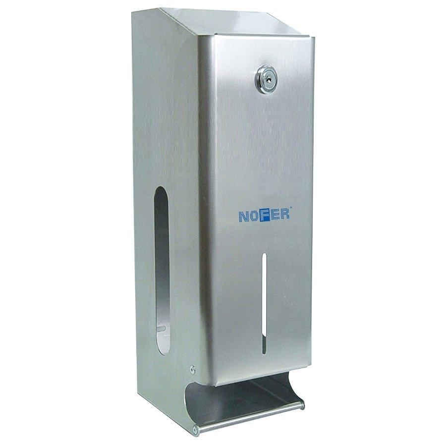 Zásobník na 3 role toaletního papíru, nerez 05102.B