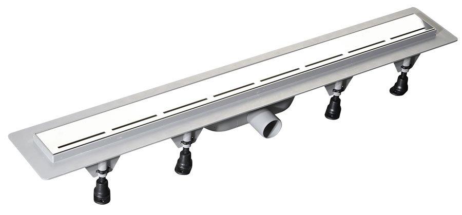 ROAD plastový sprchový kanálek s nerezovým roštem, 720x123x68 mm 71673