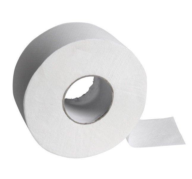 Jumbo soft dvouvrstvý toaletní papír, průměr role 19cm, délka 125m, dutinka 75mm 212A175