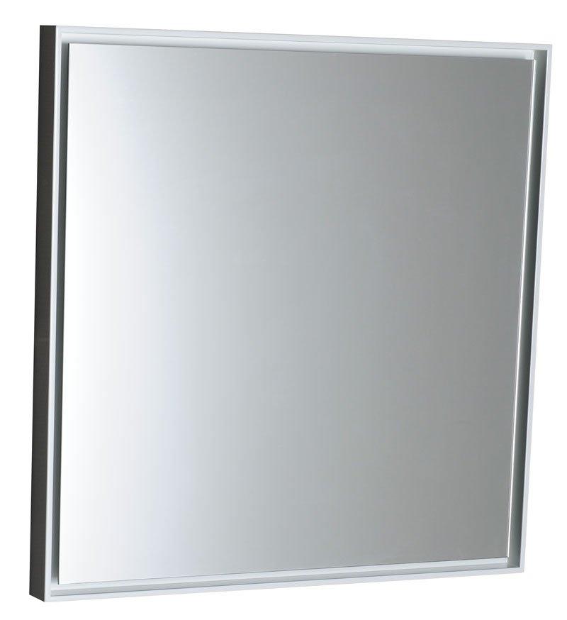 FLOAT zrcadlo s LED osvětlením 550x550mm, bílá 22555