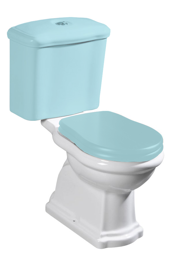 RETRO WC kombi mísa 38,5x41x72cm, zadní odpad 101301