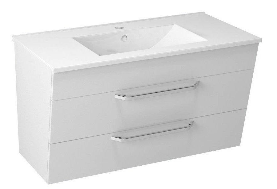 KALI umyvadlová skříňka 89x50x45cm, bílá 56091