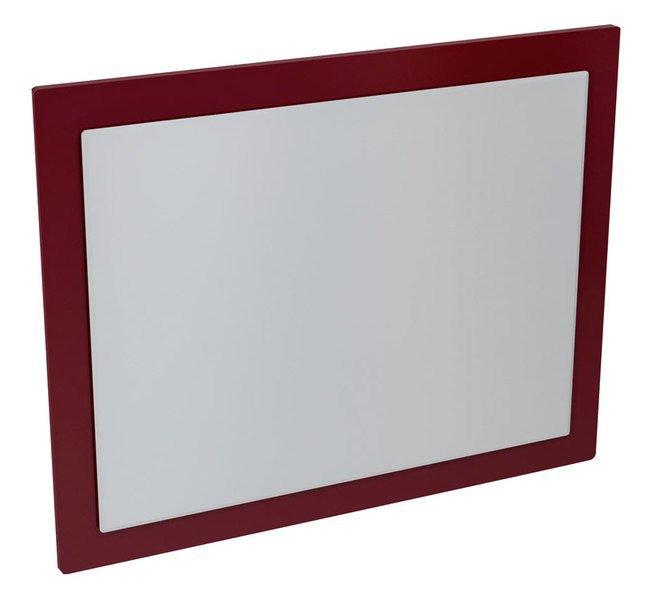 MITRA zrcadlo v rámu 920x720x40mm, bordó MT183